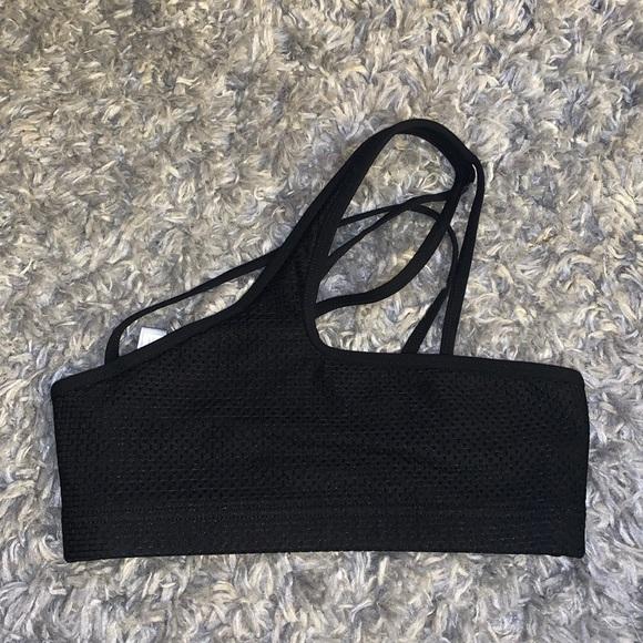 Lorna Jane one shoulder sports bra
